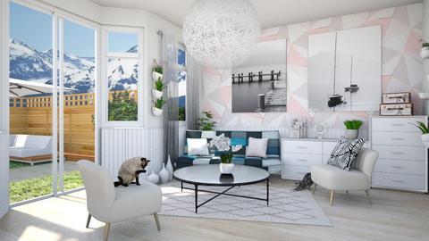 Mountain Love - Modern - Living room  - by Benafscha