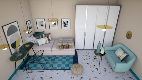 Girl - Bedroom - by chania
