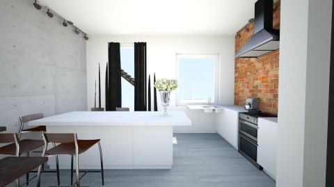 5 - Retro - Kitchen  - by ewcia11115555