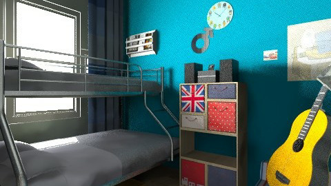 victoria boys room - Kids room - by Jek Pulido