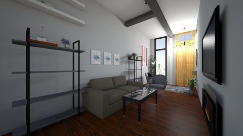 Estar Comedor - Minimal - Living room  - by anaamado21