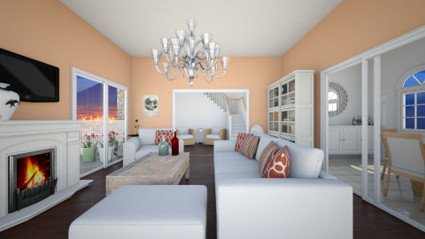 Living and Dining room  - Modern - Living room - by FlorenciaaC