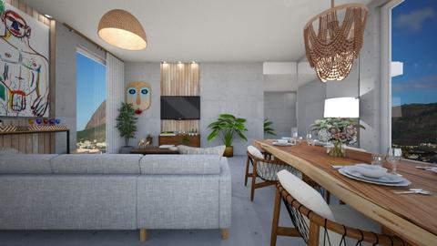 DG rio 3 - Living room - by diegobbf