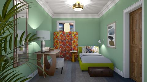 My Italian Bedroom - Eclectic - Bedroom  - by 3rdfloor