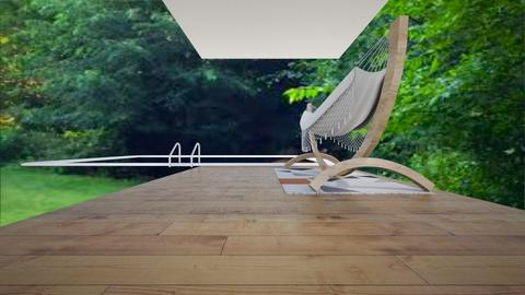 backyard bargin - Modern - Garden  - by pop of color