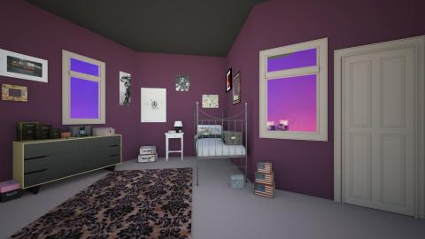 7 - Bedroom  - by abigailredon