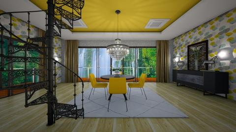 ZDr - Modern - Dining room - by Saj Trinaest