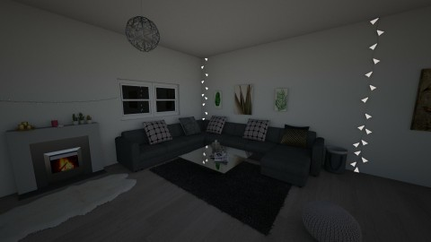 Cozy living room - by Lavy