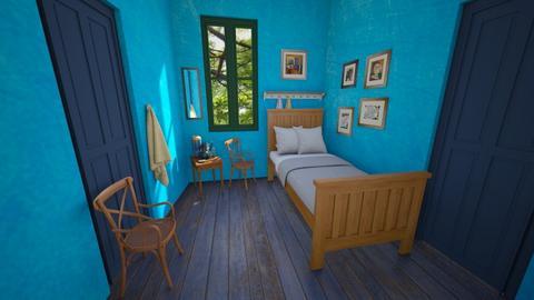 Bedroom in Arles - Bedroom  - by RonRon