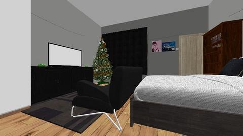 better bedroom - Rustic - Bedroom  - by Hellmara