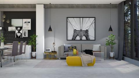 The Yellow Thread - Living room - by Augjen