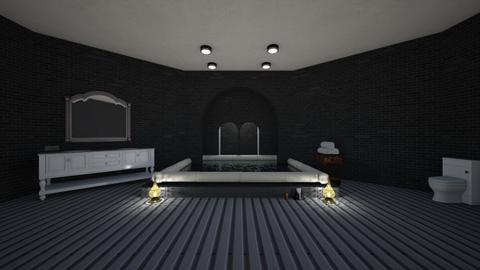Bath - Glamour - Bathroom - by KittyGirl31