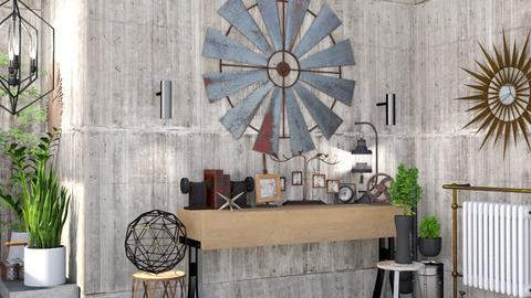 Steampunk Corner - Masculine - by Isaacarchitect