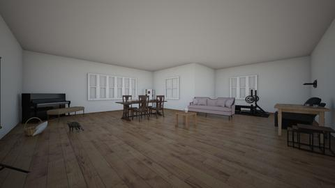 home oficce - Living room  - by RuyLopez94