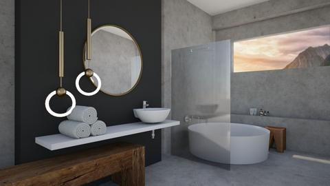 Natural Bathroom - Modern - Kitchen  - by milk07Designs