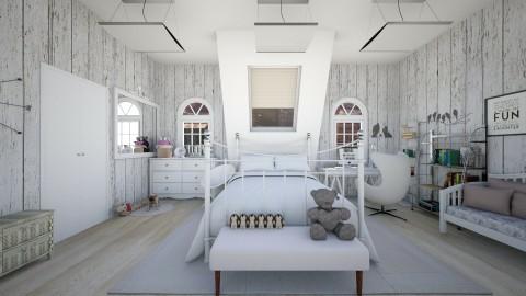 Top Floor Bedroom - Classic - Bedroom  - by florci_02