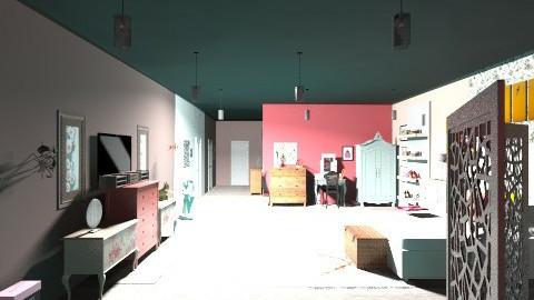 Artsy - Vintage - Bedroom  - by MorganMiller