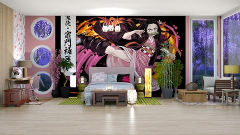 Nezuko Bedroom - Bedroom  - by Feeny