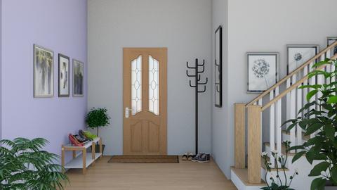 Wooden Door Entry - Classic - by Kat1121