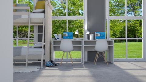 kids - Modern - Kids room  - by NEVERQUITDESIGNIT