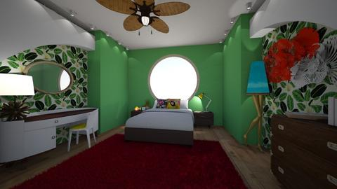 7 Elements - Eclectic - Bedroom  - by LpCray