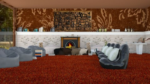 Quiet center  - Classic - Living room  - by InteriorDesigner111