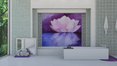 Lotus_Bath - Bathroom - by ilikalle