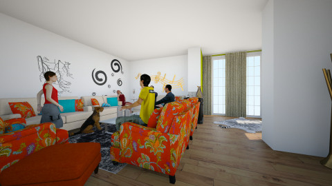 room jop - Living room - by imad