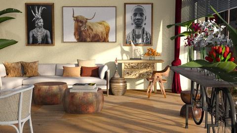 Buffallo - Living room  - by ZuzanaDesign
