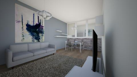 R - Living room  - by rockytalita