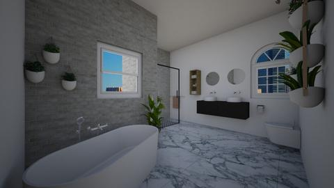 badkamer - Modern - Bathroom  - by tuttebellie2
