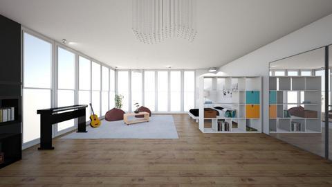 Miggys Bedroom - Bedroom  - by Jlenium