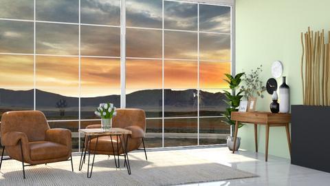 Lovely - Living room  - by Meghan White