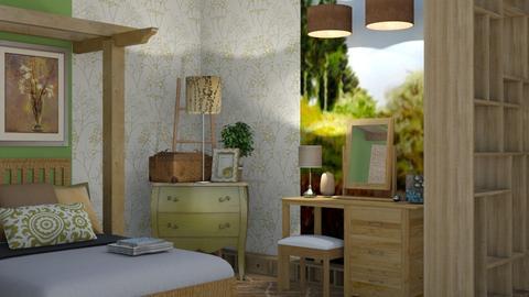Slumber Time - Classic - Bedroom  - by XiraFizade