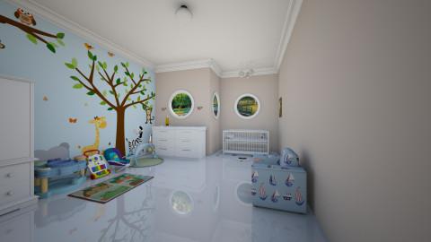 Nursery - Minimal - Kids room  - by Tuubz