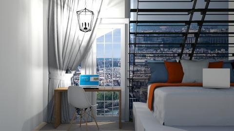 College Dorm IRR_CO - Bedroom  - by IcyRosyRake2
