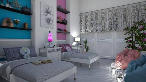 Shared Room - Modern - Bedroom - by millerfam