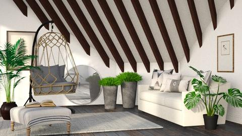 Jungle Attic - Living room  - by millerfam
