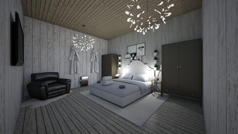 Hotel Suite - Minimal - Bedroom  - by Okurrrr
