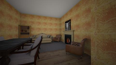 Ranch house - Country - Living room  - by kiwimelon711
