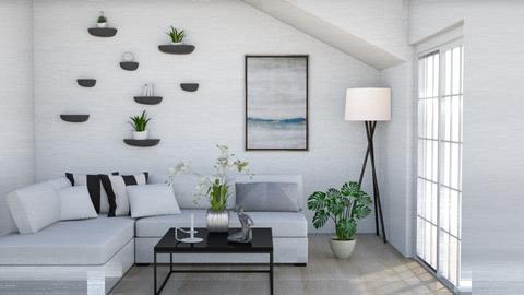 Minimalist Living Room - Living room  - by mary_bresnahan