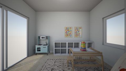 Noa Ashkenazi 7 - Kids room  - by erlichroni