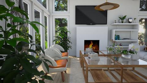 Not So Tan - Living room  - by nkanyezi