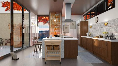 Autumn kitchen - Modern - Kitchen  - by RonRon