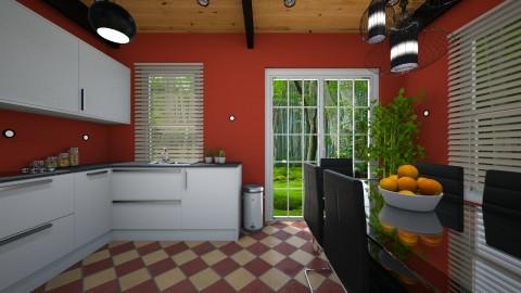 3 - Modern - Kitchen - by somochi91
