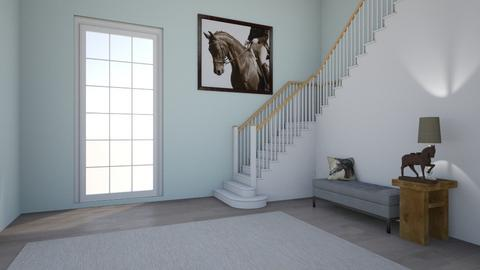 entryway horse - by amiehall