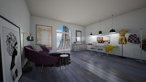 Atelier Vintage de Lionne - Vintage - Office  - by raphaelfernandesdesign