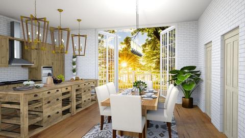 Little Cottage_Kitchen - Kitchen  - by Feeny