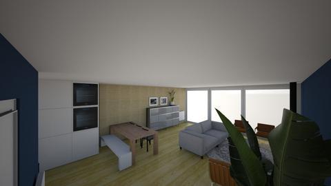 fv372 met extra muur - Living room  - by luukaerts