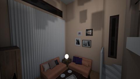Mansion 2 - Living room  - by Earvette